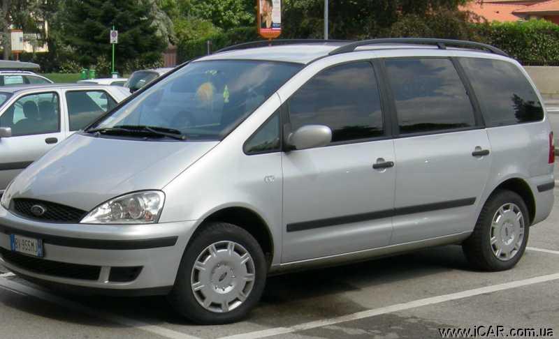 Форд галакси 2001 технические характеристики