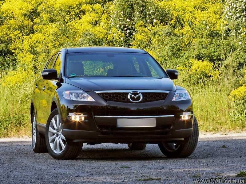 Тест-драйв Mazda CX-9.