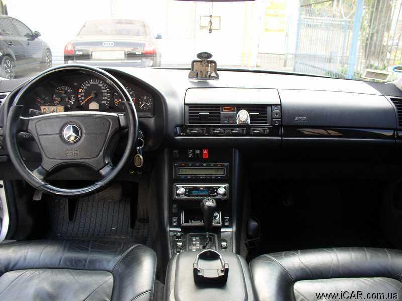 АВТОбазар Продам Mercedes Benz S 600 Long 6 0 1998 Киевская ...